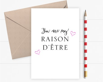 Valentine Card Love Card for Boyfriend Girlfriend Valentines Card Romantic Birthday Card Greeting Card Wedding Anniversary Card