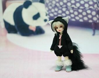 Miyoni Lati Yellow SP, Luts Tiny Delf 20, 18~20cm doll, Baby Black Cat Bodysuit BJD clothes