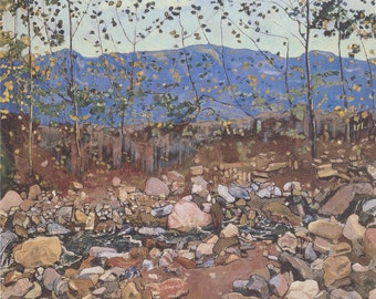 Forest Brook at Leissingen by Ferdinand Hodler Home Decor Wall Decor Giclee Art Print Poster A4 A3 A2 Large FLAT RATE SHIPPING
