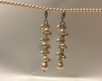 Beautiful Drop Pearl Earrings