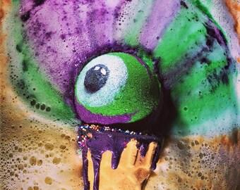 EYE-Scream XL Eyeball Icecream Bath Bomb!