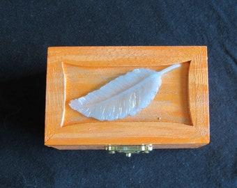 Silver Leaf Orange Box