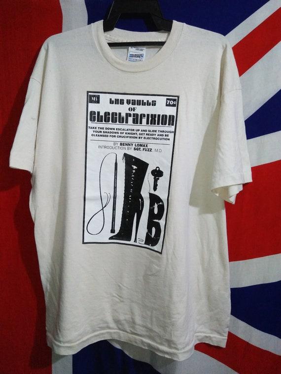 promo T shirt Electrafixion Tour Vintage Bunnymen Echo H0RwqBPR65