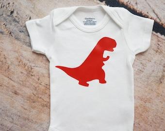 Dinosaur ONESIE®, Coming Home Outfit, Baby Gift, Dinosaur Nursery Decor, Dino Onesie, Baby Shower Gift, Baby Outfit, Baby Boy Onesie, T-rex