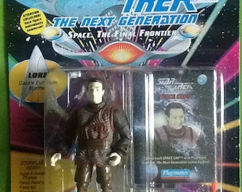 Star Trek The Next Generation Lore Action Figure MINT