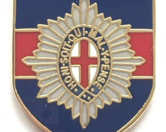 Coldstream Guards Regiment Military British - MOD Approved Army Enamel Pin Badge