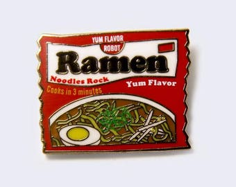 Ramen Package Enamel Pin