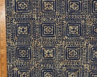 Batik ethnic fabric Upholstery fabric vintage One Yard decorator fabric Tiki Geometric Tribal African decor furniture upholstery fabric
