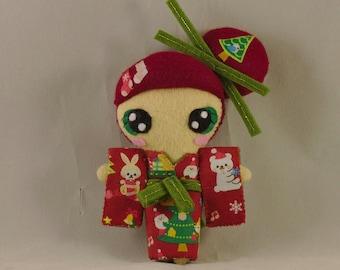 Doll / Kawaii / Japan / Christmas / Kimono