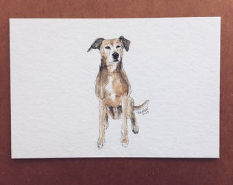 "4 x 6"" Made to Order Watercolor 