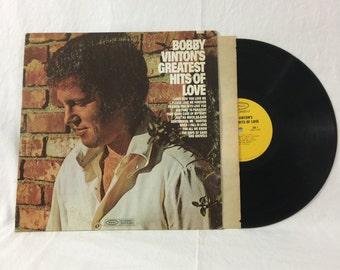Bobby Vinton's Greatest Hits Of Love Vintage Vinyl Record Album 33rpm lp 1970 Epic Records BN 26517