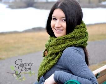 Ally Scarf Crochet Pattern PDF