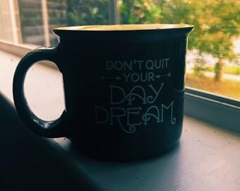 Quote Coffee Mug Candle