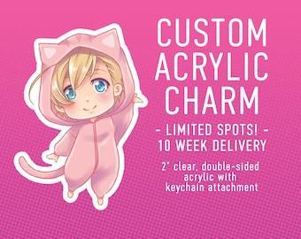 Custom Acrylic Charm