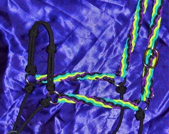Braided Hybrid Type Rope Halter