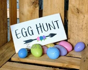 Egg Hunt Easter Sign