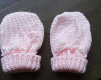 mittens baby 0/3 months