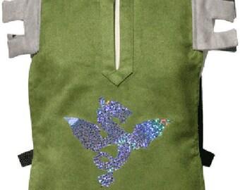 10 green Squire costume - Picanoc