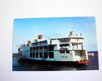 Canadian National Ferry New Brunswick to P.E.I.  Canada Postcard /  New Brunswick Souvenir
