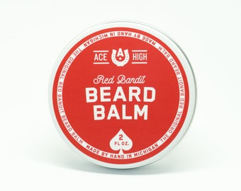 Red Bandit Beard Balm