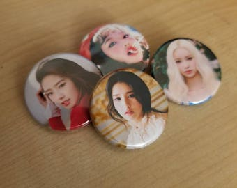 LOONA pinback button