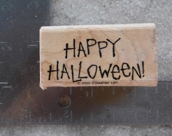 Stampin Up Happy Halloween Single Stamp #A75