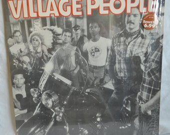 Vintage Record Village People Self Titled Album NBLP-7064