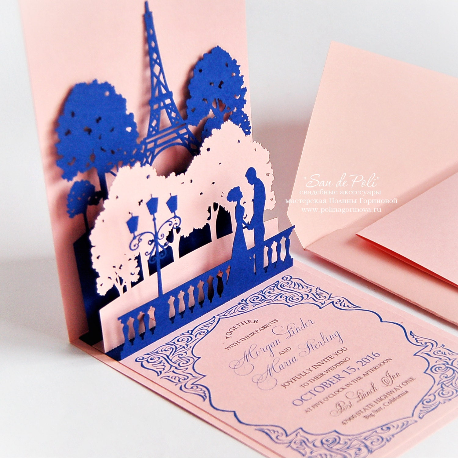 Wedding Pop Up Invitations Choice Image - invitation templates