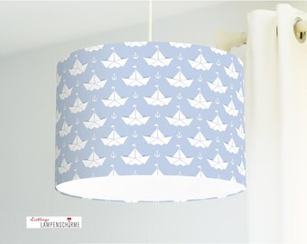 Lamp Paper Boats
