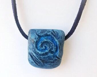 Square Hearthstone Pendant