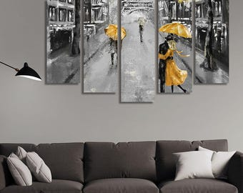 LARGE XL Canvas Wall Art Print Home Decoration - Framed and Stretched - 5049