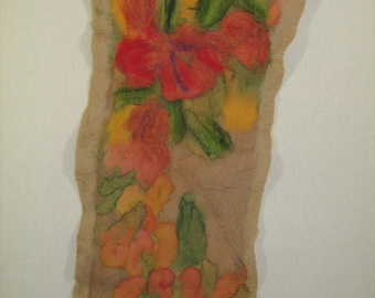 textile picture matted