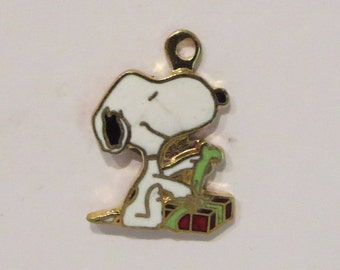Vintage Snoopy Gift Wrapping Charm By Aviva