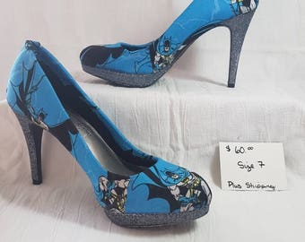 Custom Batman Heels