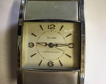 Vintage Westclox Duo-larm clock