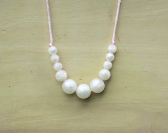 PEARLS! Available in gold, black and white.