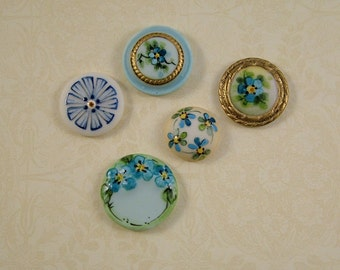 Blue Mix set of 5