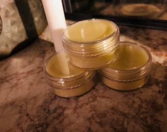 100% bees wax peppermint lip balm