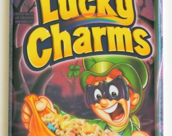 Halloween Lucky Charms Cereal Box Fridge Magnet