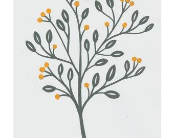 A4 Flore print