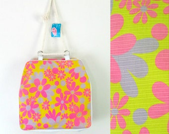 Mid Century Mod Beach Tote Bag New With Tags Deadstock Natco Summer Totes
