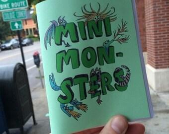 Mini Monsters minicomic zine