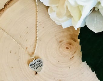 Thank You For Being a Friend, Golden Girls Necklace, Golden Girls, Friendship, BFF Gifts, Rose, Blanche, Dorothy, Sophia