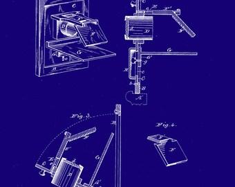 Camera Obscura 1881 Patent Print