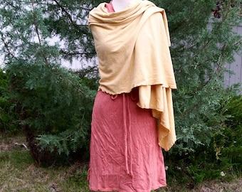 Wrapture hemp shawl