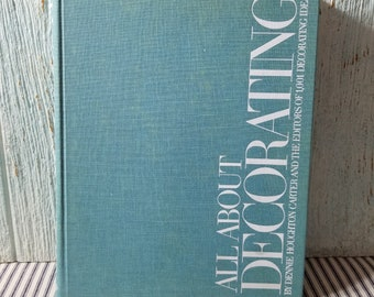 Tout au sujet de décoration 1971 Conso Publishing, merveilleux milieu du siècle moderne livre décorateur, Mad Men Style