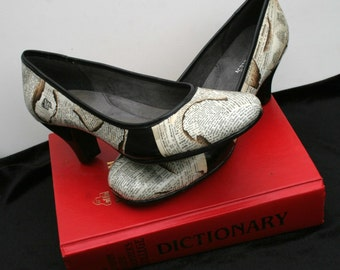 Dictionary Heels Dictionary Shoes Bibliophile Heels Bibliophile Shoes Book Wedding Heels Wedding Shoes Book Lover Gift Bibliophile Librarian