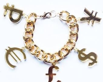 Riches Charm Bracelet