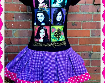Descendants dress girls 4/5 6/6X 7/8 10/12 14/16 ready to ship