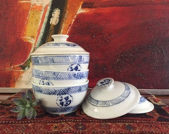 Ceramic Lidded Dishes